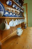 Welsh dresser and china 2 Stock Photo
