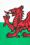 Welsh Flag Royalty Free Stock Images