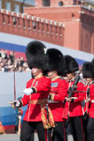 The Welsh Guards Regiment Stock Photos