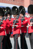 The Welsh Guards Regiment Royalty Free Stock Photo