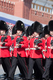 The Welsh Guards Regiment Royalty Free Stock Photos
