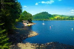 Welsh Lake Royalty Free Stock Photo
