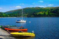 Welsh Lake Stock Image