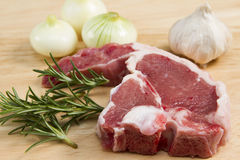 Welsh lamb chop Stock Photos