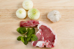 Welsh lamb chop Royalty Free Stock Image