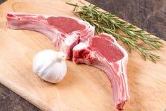 Welsh lamb chops Royalty Free Stock Photos