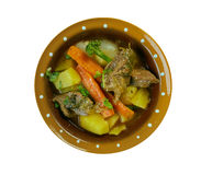 Welsh Lamb Hotpot. With Vegetables - Cawl Royalty Free Stock Photography