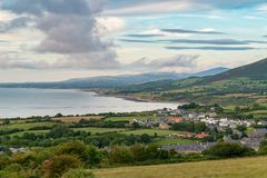 Welsh landscape on the Llyn Peninsula royalty free stock image