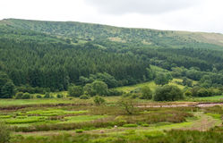 Welsh landscape view Stock Photo
