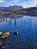 Welsh mountain lake Royalty Free Stock Photos