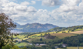 Welsh mountains Stock Image