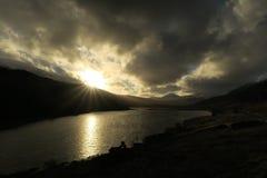 Welsh mountains near Llanberis Stock Photo