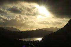Welsh mountains near Llanberis Stock Photography