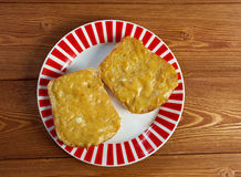 Welsh Rarebit Royalty Free Stock Photography
