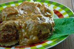 Welsh-Style Pork Meatballs Stock Image