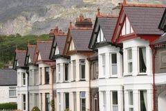 Welsh Terrace stock photo