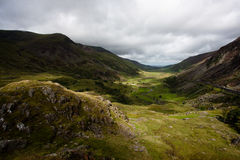 Welsh Valley Royalty Free Stock Photos