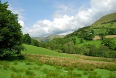 Welsh Valley 44. View of a welsh valley in snowdonia, north wales Stock Photography