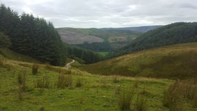 Welsh Valley Royalty Free Stock Image
