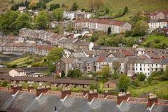 Welsh village of Cwmtwrch Stock Image