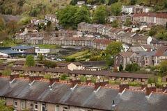 Welsh village of Cwmtwrch Stock Images