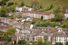 Welsh village of Cwmtwrch Royalty Free Stock Photography