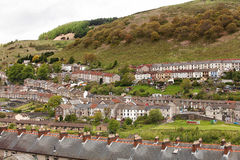 Welsh village of Cwmtwrch Royalty Free Stock Photos