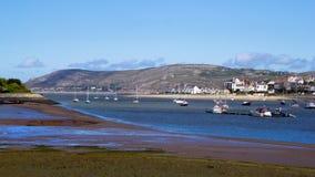 Welsh wybrzeże Fotografia Stock