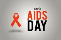 Welt-Aids-Tag 1. Dezember Lizenzfreies Stockfoto