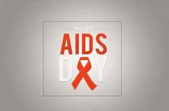 Welt-Aids-Tag 1. Dezember Lizenzfreie Stockfotos