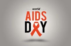 Welt-Aids-Tag 1. Dezember Lizenzfreie Stockfotografie