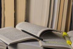 Welt der Bücher Stockbild