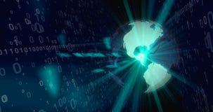Welt des Digitaltechnikkonzeptes Lizenzfreie Stockbilder