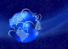 Welt des Internets lizenzfreie abbildung