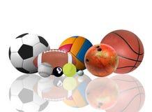 Welt des Sports Stockbild
