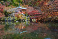 Welt-Erbe-Daigoji-Tempel Stockfotografie