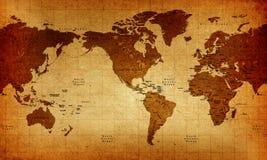 Welt-Karte stock abbildung