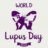 Welt Lupus Day Stockfoto