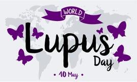 Welt Lupus Day Lizenzfreie Stockfotos