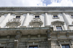 Welt Museum Vienna stock photos