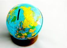 Welt-Querneigung Stockbild