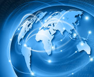 Welt schließen an Lizenzfreie Stockbilder