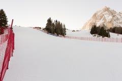 Welt Ski Men Ita Downhill Race Lizenzfreie Stockfotografie