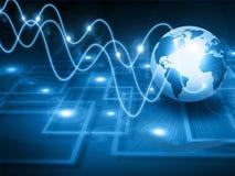Welt und Kreisläufe Lizenzfreie Stockfotos
