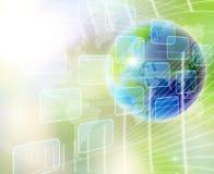 Welt und Technologie Stockfotos