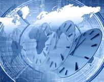Welt und Zeit Lizenzfreie Stockbilder
