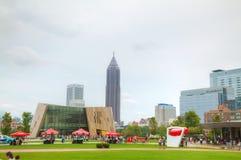 Welt von Coca-Cola im hundertjährigen Olympiagelände lizenzfreie stockfotografie