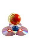 Welt von Daten lizenzfreie stockbilder