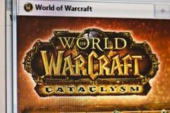 Welt von warcraft lizenzfreie stockfotografie