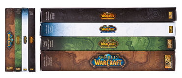 Welt von Warcraft Stockfotos